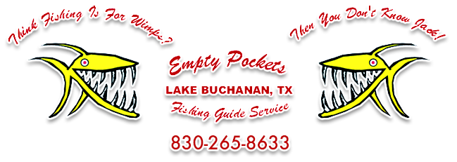 Lake Buchanan Striper Fishing Guide Inks Lake Fishing Guide Service